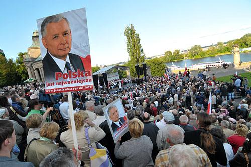 Kaczyński: Lewica, a nie postkomunizm - od dziś tak będę mówił (WIDEO)