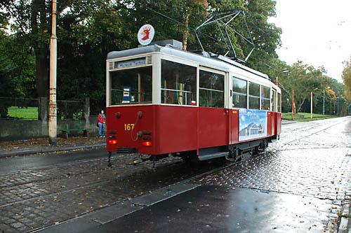 Tramwajem po Szczecinie