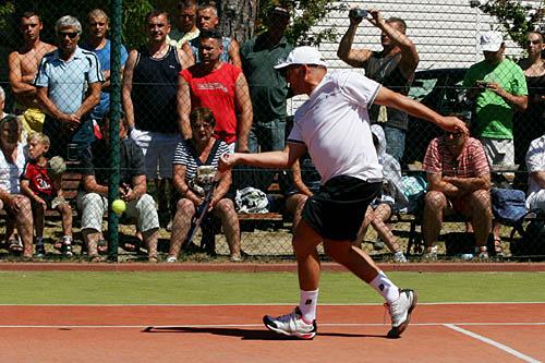 Tenisowy turniej gwiazd w Świnoujściu