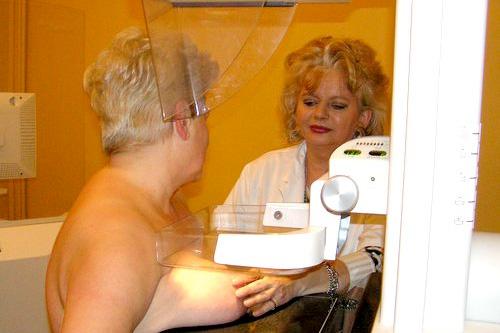 Pracownia mammografii w stargardzkim szpitalu, zamknięta w połowie grudnia ubiegłego roku wznowi działalność. Fot. Łukasz Szełemej [Archiwum PRS]