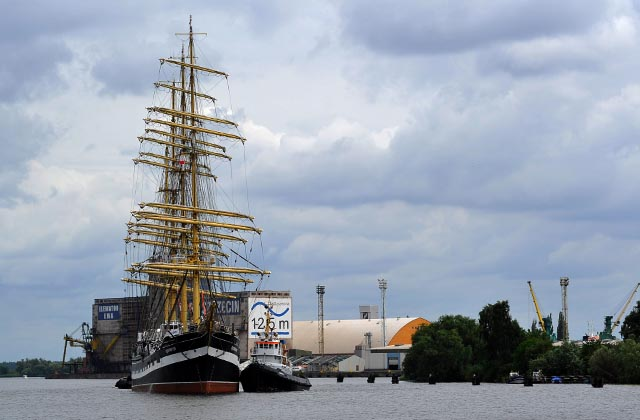 Jeden z największych żaglowców świata w Szczecinie