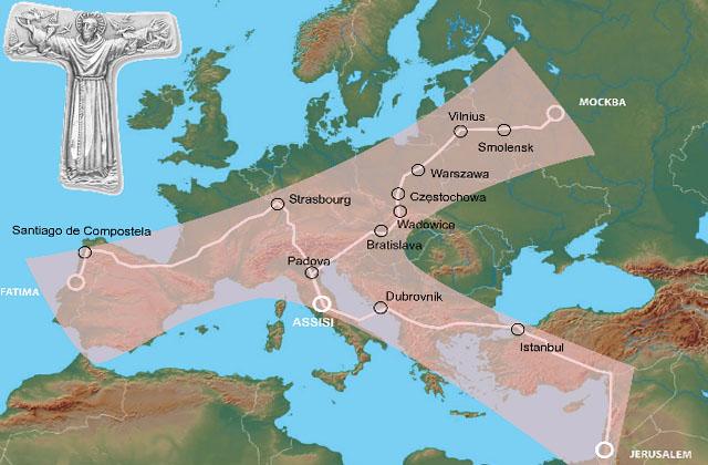 Pielgrzym ze Szczecina przejdzie ponad 3 tys. kilometrów
