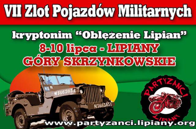 """""""Oblężenie Lipian"""" - VII Zlot Pojazdów Militarnych"""