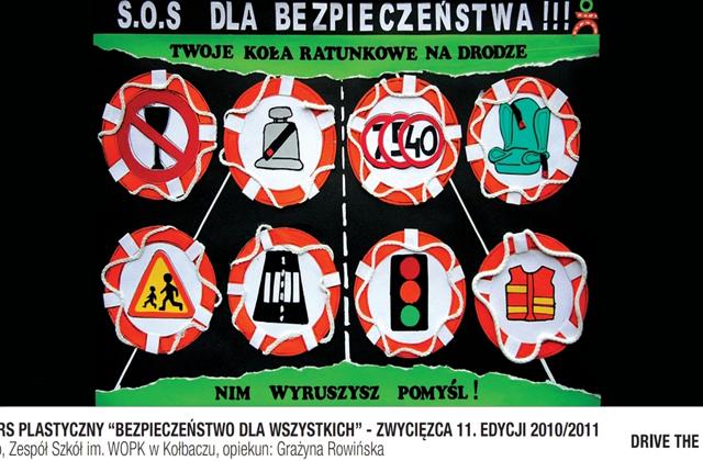 Dzieci z Kołbacza nagrodzone za projekt plakatu