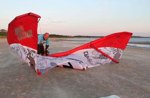 Przez Bałtyk na Kitesurfingu