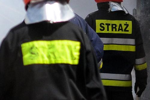Świnoujscy strażacy walczą z zalanymi piwnicami