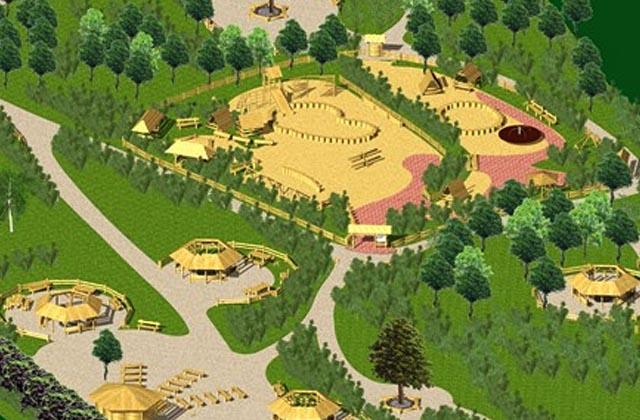 Park rekreacyjny przy ul. Kutrzeby