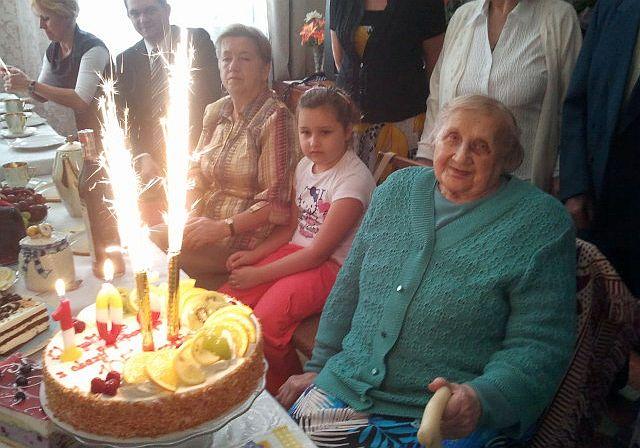 105. urodziny pani Marianny