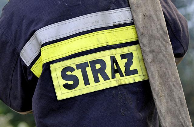 Goleniów: Jedna osoba ranna w pożarze