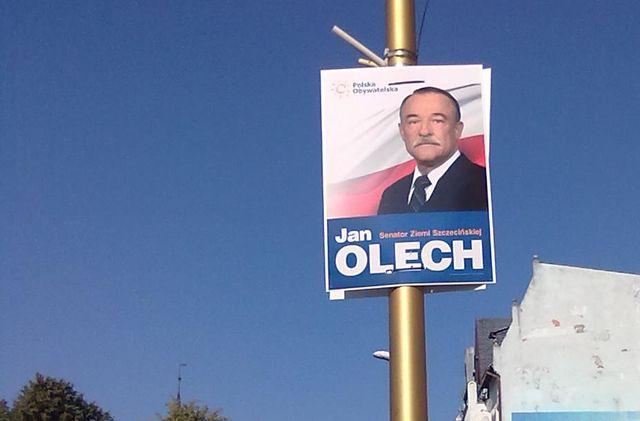 Świnoujście: Olech zapłaci karę za nielegalne plakaty