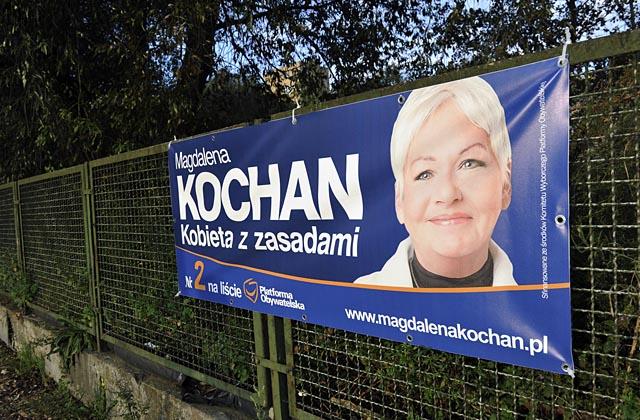Coraz więcej plakatów wyborczych na ulicach Szczecina