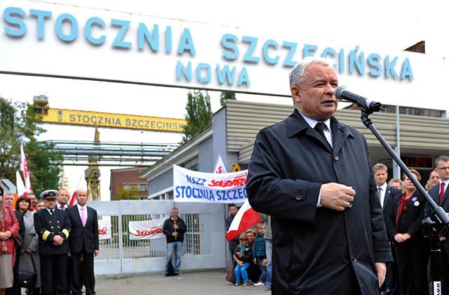 Kaczyński: Polska stanęła do Bałtyku tyłem [WIDEO]