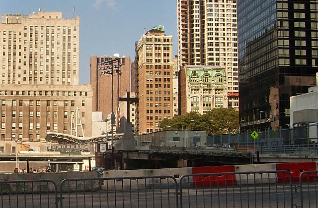 Punkt Zero. Zdjęcie wykonane w Nowym Yorku w 2006 roku. Fot. Łukasz Szełemej [PR Szczecin/Archiwum]