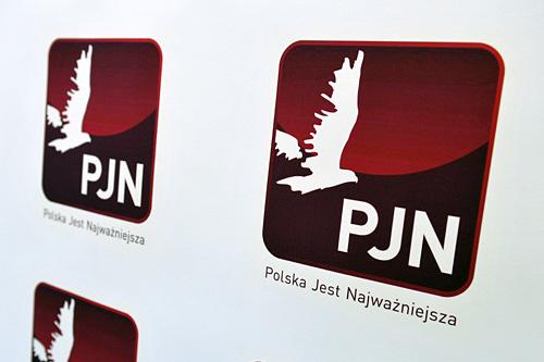 """Żywy billboard"" PJN"