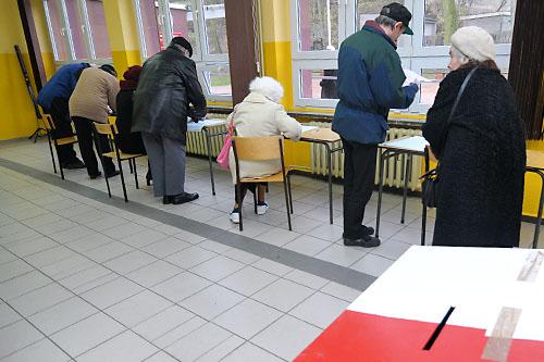 Lokalni politycy oceniają sondaże przedwyborcze