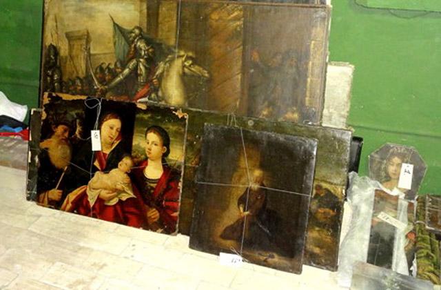 Szczecińscy policjanci odzyskali skradzione dzieła sztuki