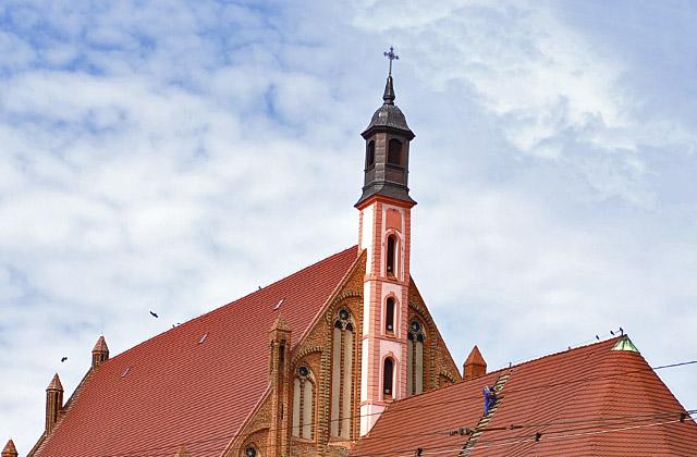 XIV-wieczny kościół pw. św. Jana Ewangelisty w Szczecinie będzie można zwiedzać w Internecie. Fot. Łukasz Szełemej [PR Szczecin/Archiwum]