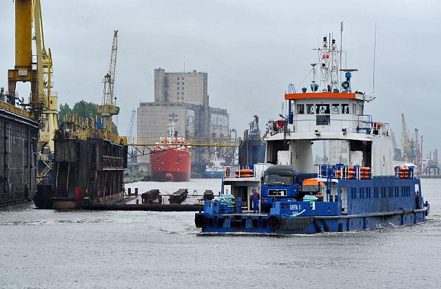 Sytuacja firm działających w branży remontów statków w Szczecinie jest katastrofalna - uważają działacze Sojuszu Lewicy Demokratycznej. Fot. Łukasz Szełemej [PR Szczecin/Archiwum]