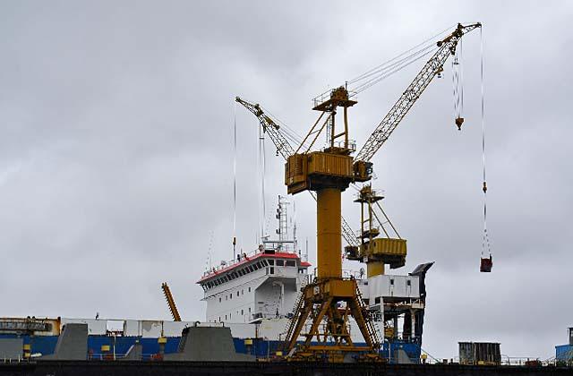 Wydzierżawienie terenów stoczniowych firmie Kraftport może spowodować iż żadne statki w Szczecinie nie będą budowane. Fot. Łukasz Szełemej [PR Szczecin/Archiwum]