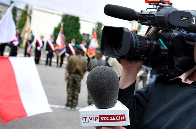 Kronika Obraz Dnia została wybrana najlepszym programem informacyjnym nadawanym przez oddziały terenowe telewizji publicznej. Fot. Łukasz Szełemej [PR Szczecin]