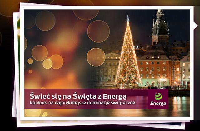 """Trwa trzecia edycja plebiscytu na najpiękniejsze iluminacje świąteczne w Polsce """"Świeć Się z ENERGĄ"""" na Święta. Fot. www.SwiecSie.pl"""
