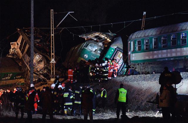 Pogrzeb maszynisty z katastrofy kolejowej