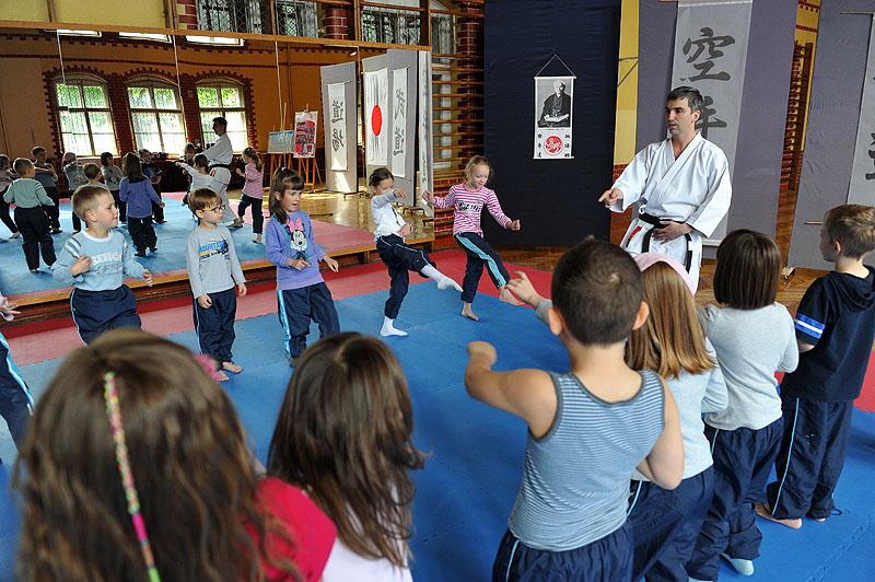 Mali karatecy. Fot. Łukasz Szełemej [PR Szczecin]