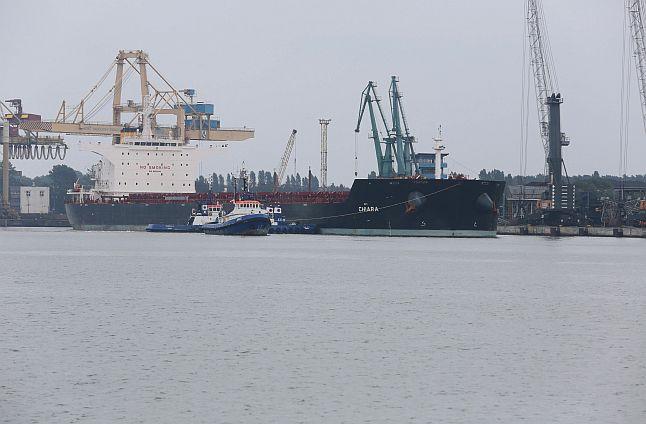 W sobotę do Świnoujścia przypłynął największy statek, jaki w historii zawinął do tego portu. Fot. Sławomir Orlik [PR Szczecin]