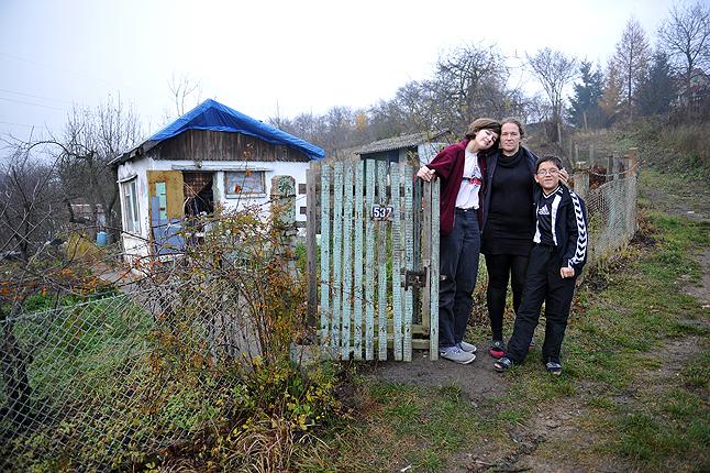 Dramat rodziny ze Szczecina. Mieszkają na działkach. Fot. Łukasz Szełemej [Radio Szczecin]