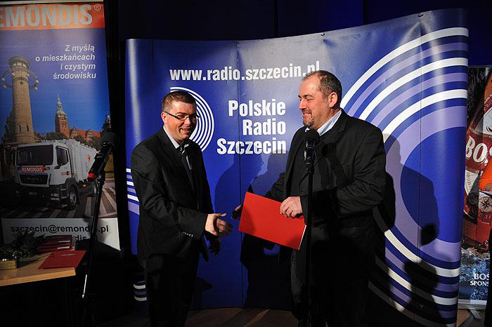 Dziennikarze Roku 2011. Fot. Łukasz Szełemej [PR Szczecin] Dziennikarka Radia Szczecin najlepszą dziennikarką w Szczecinie [ZDJĘCIA]
