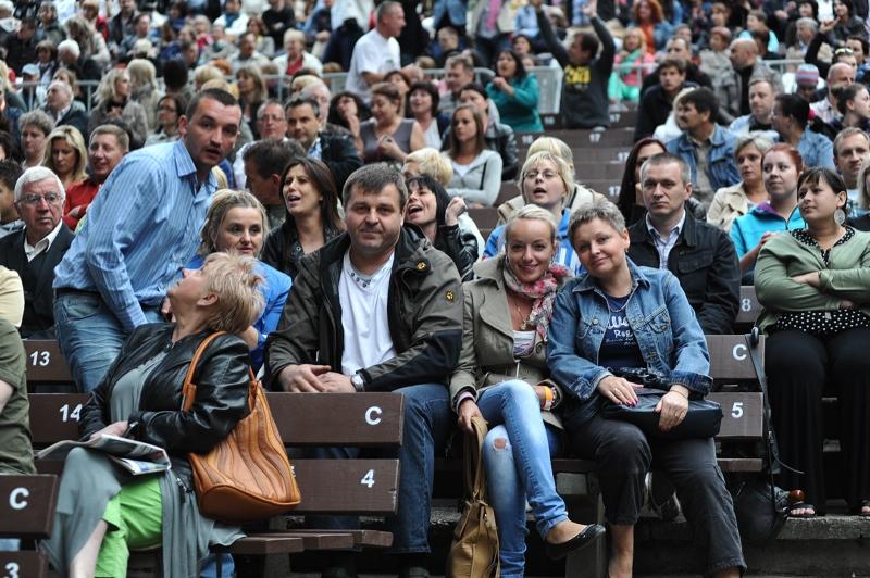 Thomas Anders w Teatrze Letnim. Fot. Łukasz Szełemej [PR Szczecin]