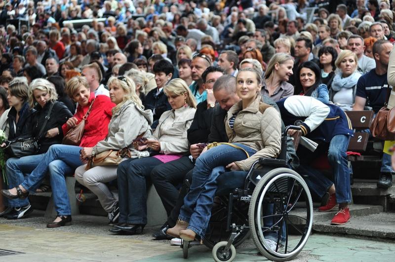 Thomas Anders w Teatrze Letnim. Fot. Łukasz Szełemej [PR Szczecin] Thomas Anders zachwycił tłumy szczecinian [WIDEO, ZDJĘCIA]