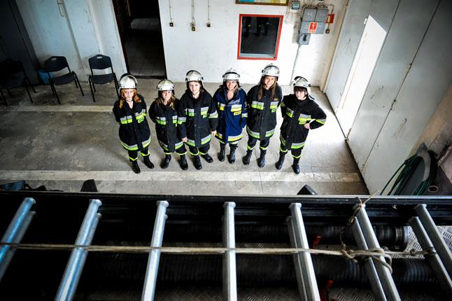 OSP Przelewice. fot. Łukasz Szełemej [PR Szczecin] Te dziewczyny pójdą za Tobą w ogień [DUŻO ZDJĘĆ]