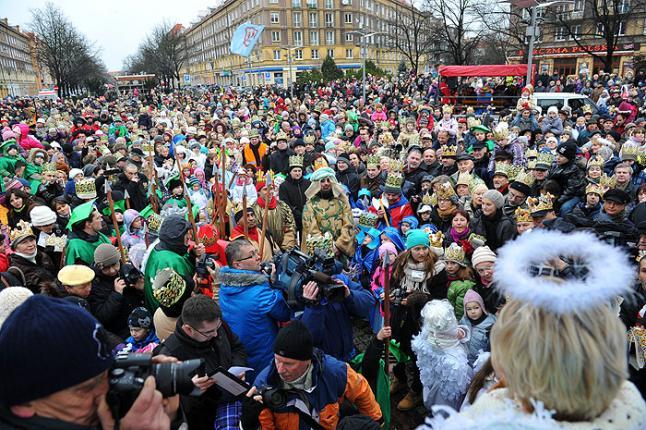 Orszak Trzech Króli przejdzie w niedzielę ulicami Szczecina. Fot. Łukasz Szełemej [Radio Szczecin/Archiwum]