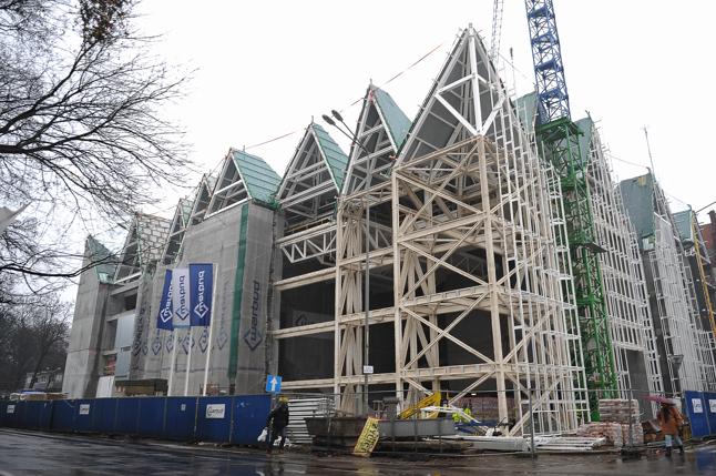 Dach nowej siedziby budzi wątpliwości radnej