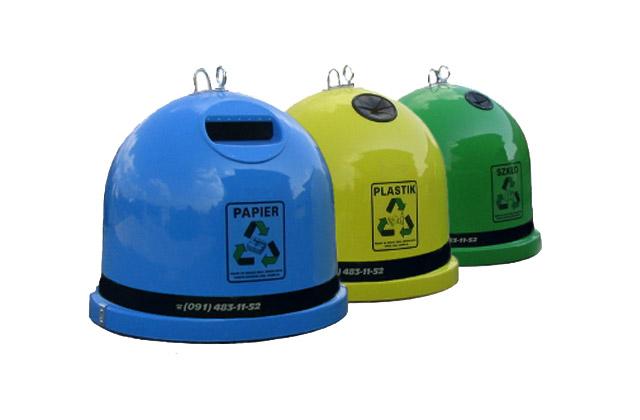 Pojemniki do selektywnej zbiórki śmieci zostają