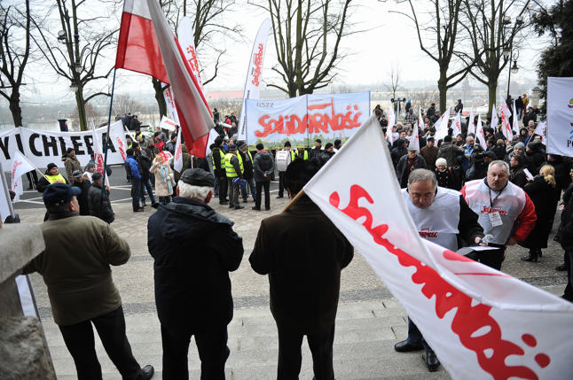 """""""Solidarność"""" solidarna z rolnikami [ZDJĘCIA]"""
