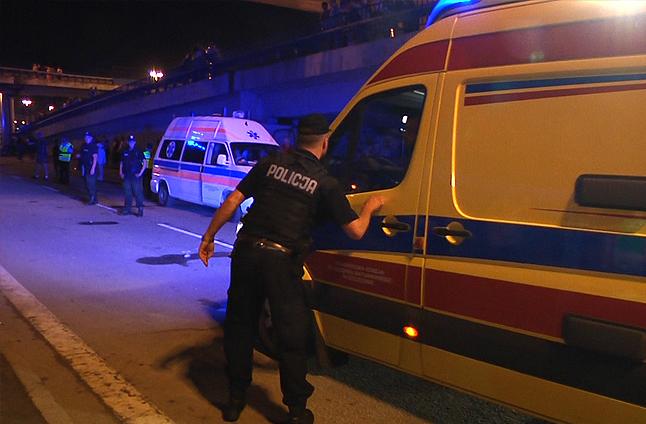 22-latek spadł z Trasy Zamkowej. Nie żyje