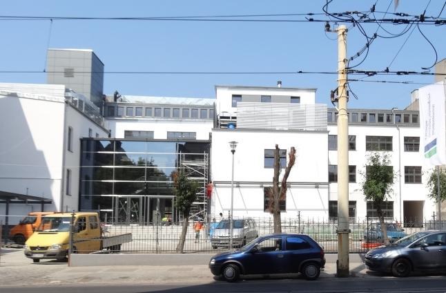 """Zakończyła się przebudowa budynku zakładu dawnej """"Dany"""" przy ulicy Jagiellońskiej w Szczecinie. Fot. Materiały RCIiTT."""