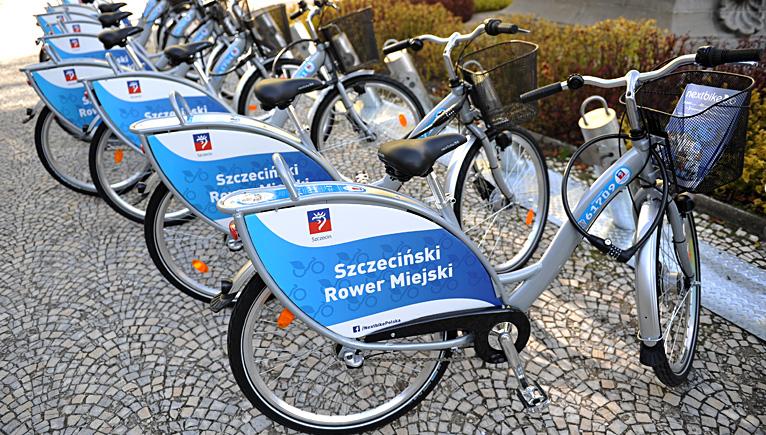 Rowerem miejskim po Szczecinie? Urzędnicy analizują projekt [ZDJĘCIA]