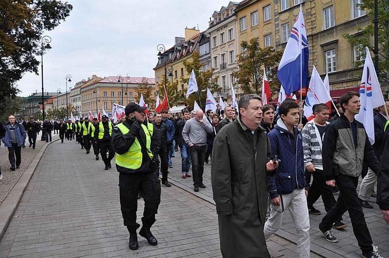 Szczecinianie jadą na marsz do stolicy