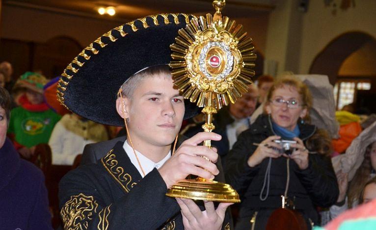 Młodzież i studenci poniosą relikwie meksykańskiego męczennika