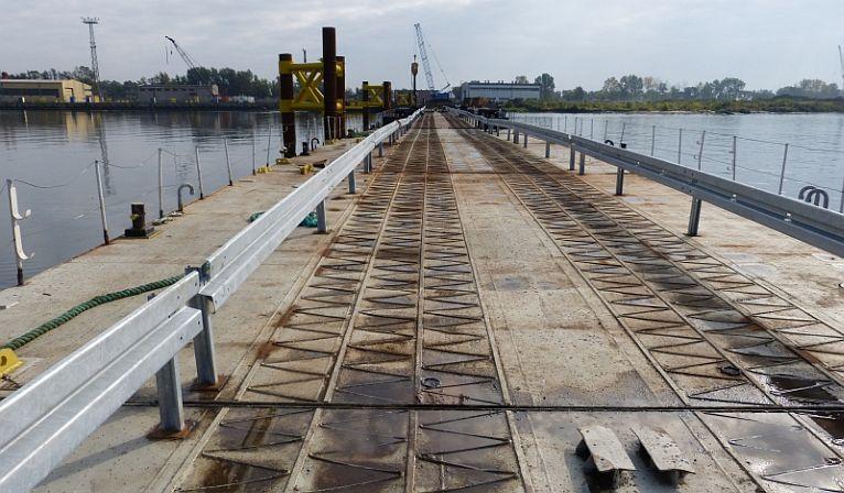 Most prawie gotowy. Budowa fabryki może ruszyć [ZDJĘCIA]