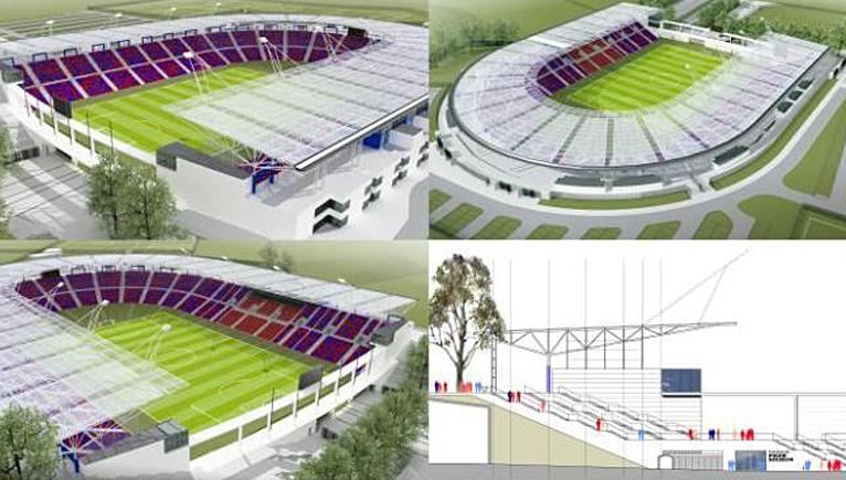 Tak może wyglądać szczeciński stadion. Miasto ogłosiło wyniki konkursu [WIZUALIZACJE, SONDA]