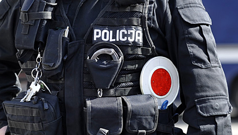Polska policja poszukuje uciekiniera