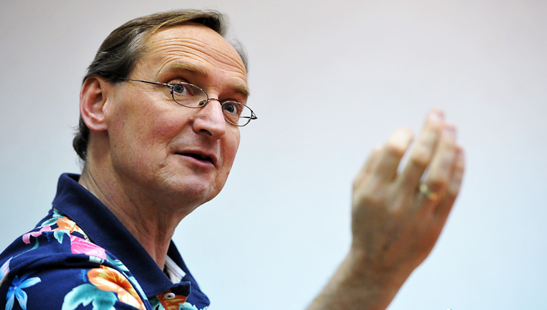 Wojciech Cejrowski. Fot. Łukasz Szełemej [Radio Szczecin]