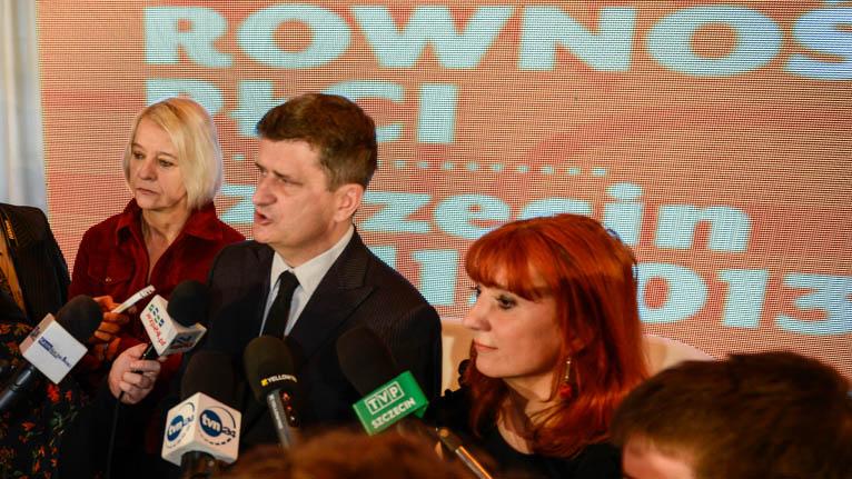 """Palikot """"liczy szable"""" w Szczecinie: Jestem pewien, że możemy tu powalczyć o zwycięstwo"""