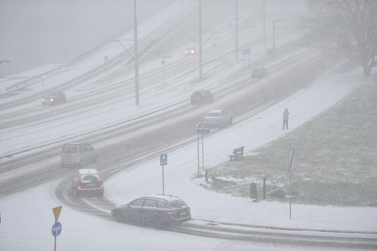 Burza śnieżna nad Szczecinem i Stargardem [ZDJĘCIA, NOWE]