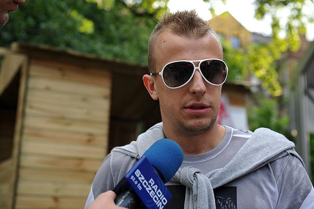 Niewykluczone, że reprezentant Polski dołączy do Portowców podczas zgrupowania w Antalyi. Fot. Łukasz Szełemej [Radio Szczecin/Archiwum]
