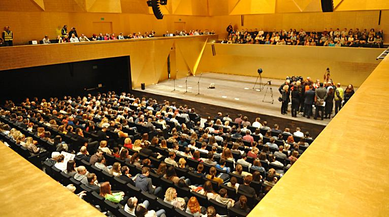 Sala koncertowa nowej filharmonii brzmi perfekcyjnie. Miasto przedstawia wyniki pomiarów